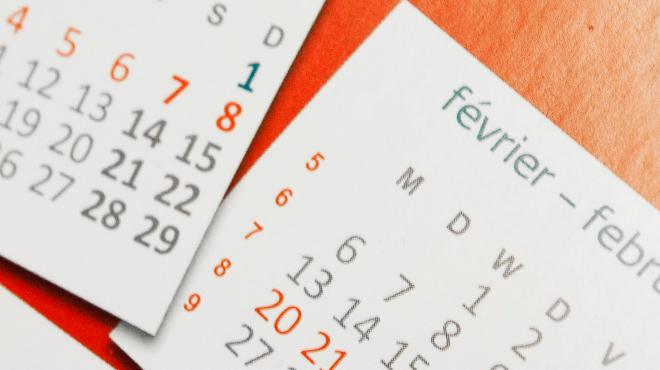 A vos agendas voici quand tomberont les jours f ri s et les vacances scolaires en 2017 rtl info - Date vacances de paques 2017 ...