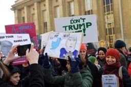 USA: six journalistes arrêtés lors de manifestations anti-Trump