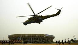 RDC: quatre disparus et trois blessés après le crash de deux hélicoptères de combat