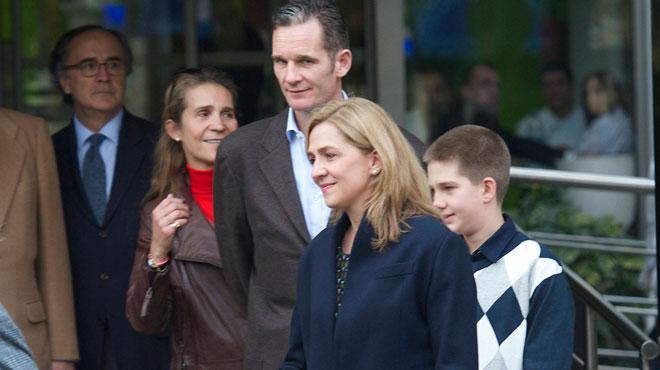 Fraude fiscale: l'infante Cristina est libre mais son époux écope de 6 ans de prison