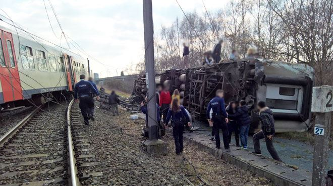 Déraillement d'un train à Louvain: le point sur les perturbations et les travaux