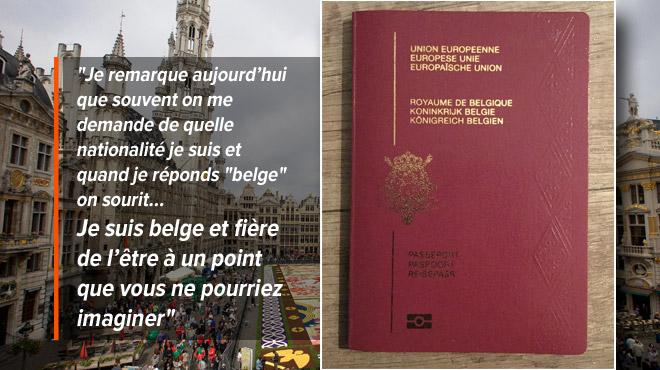 Voici le message d'un homme fier d'être d'origine marocaine, musulman ET BELGE