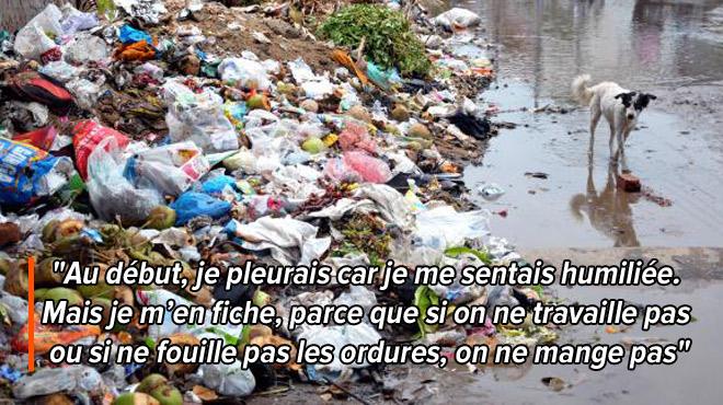Le Venezuela meurt de faim: Rebeca, jeune maman, doit vivre des ordures
