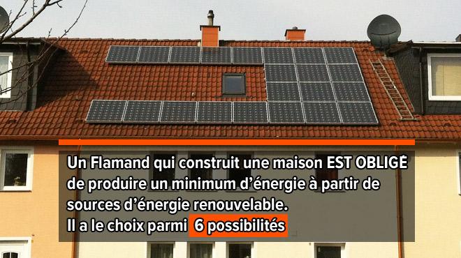 Pourquoi les panneaux photovoltaïques se vendent beaucoup moins en Wallonie qu'en Flandre?