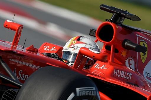 Essais de Barcelone 2, 3e jour: Vettel s'empare du meilleur temps