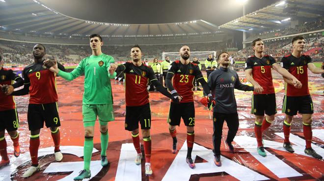 Statu quo pour les Diables Rouges au classement FIFA