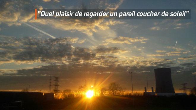 Ça nous avait manqué, et ça fait du bien: Wojciech immortalise un magnifique coucher de soleil (photos)