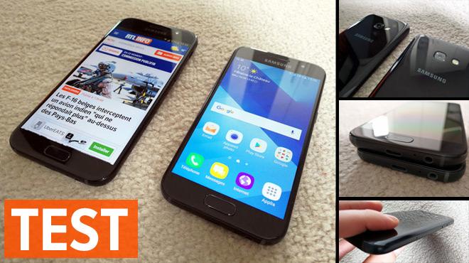 Les Galaxy A3 et A5 de Samsung, smartphones 'abordables' les plus vendus en Belgique, ont bien changé en 2017: peut-on encore leur faire confiance ?