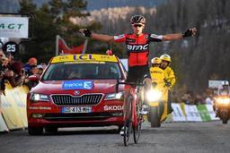 Paris-Nice - Porte reste leader du WorldTour, Henao prend la 2e place à Van Avermaet
