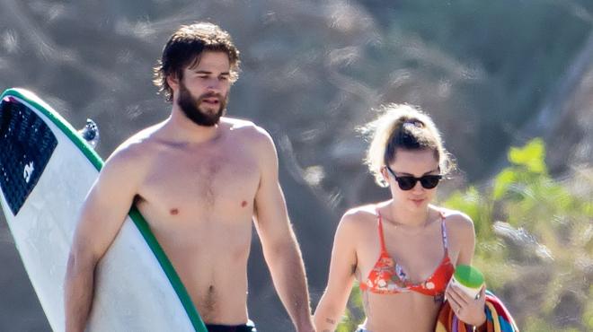 Miley Cyrus et Liam Hemsworth mariés en secret? Voici la photo qui sème le doute…