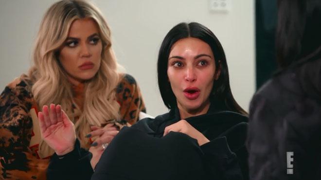 En larmes, Kim Kardashian raconte son agression parisienne à la télévision: