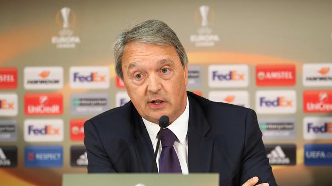 Pour Van Holsbeeck, Anderlecht ne va pas privilégier les Play-offs I au détriment de l'Europa League