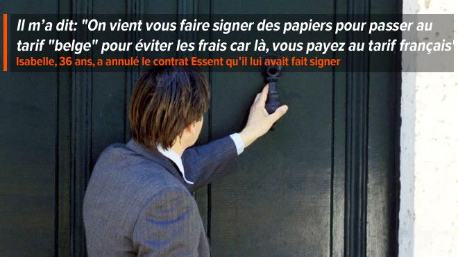 Une Louviéroise dénonce les méthodes d'un vendeur de contrat d'énergie: