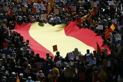 Défilé à Barcelone contre l'indépendance