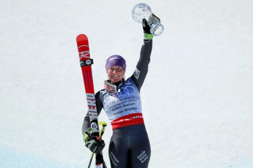 Ski: Tessa Worley:
