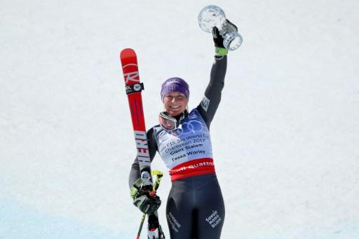 Ski: Worley, du cristal pour finir un hiver en or
