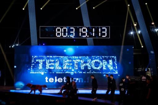 Téléthon 2016: collecte de près de 93 millions d'euros