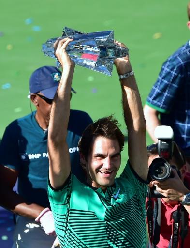Tennis: Federer en avance sur son tableau de marche