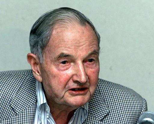 Mort de David Rockefeller, dernier des