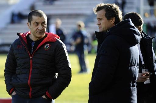 Top 14: Fabien Galthié revient au terrain à Toulon