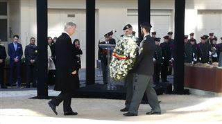 22 MARS, 1 AN- un monument dédié à toutes les victimes d'actes terroristes inauguré en présence du Roi