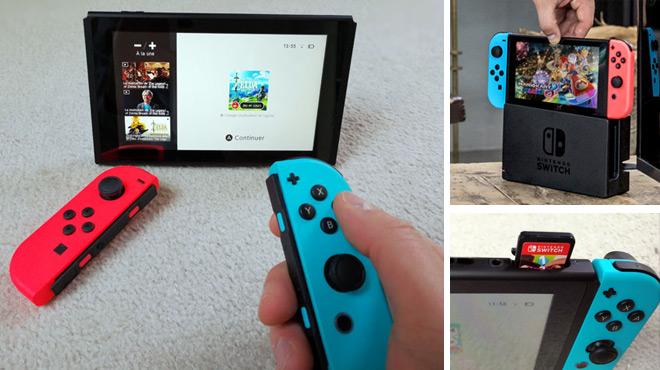 Test notre avis sur l 39 tonnante nintendo switch console portable ou console de salon rtl info - Derniere console nintendo ...