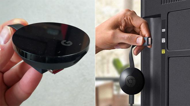 Voici le Google Chromecast Ultra: à quoi peut bien servir ce minuscule boitier rond ?
