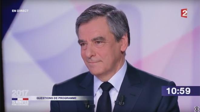 François Fillon indigne des téléspectateurs avec sa remarque sur la grossesse de Léa Salamé (vidéo)