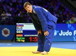 Euro de judo - Matthias Casse éliminé en 8e de finale en -81 kg