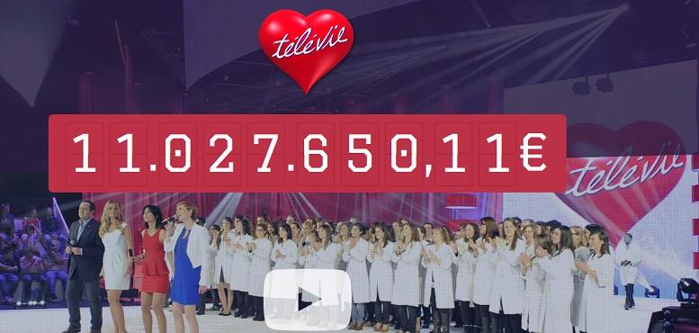 Télévie: 11 millions d'euros pour la recherche contre le cancer, merci pour votre générosité