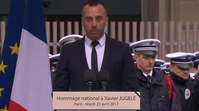 Le compagnon du policier tué sur les Champs-Elysées lui rend hommage- Je souffre sans haine