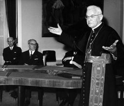 La mémoire du cardinal Joseph Cardijn honorée à Laeken un demi siècle après sa mort