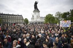 Présidentielle française - Première manifestation à Paris après l'élection d'Emmanuel Macron