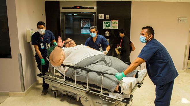 L'homme le plus gros du monde a été opéré: son estomac a presque entièrement été retiré