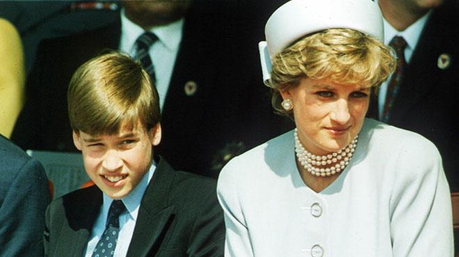 L'émouvante promesse du prince William à sa maman Diana pour quand il deviendrait Roi