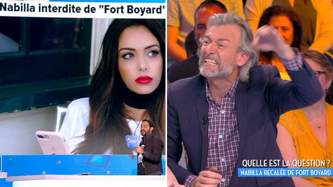 Nabilla interdite de Fort Boyard: Gilles Verdez crie sa colère