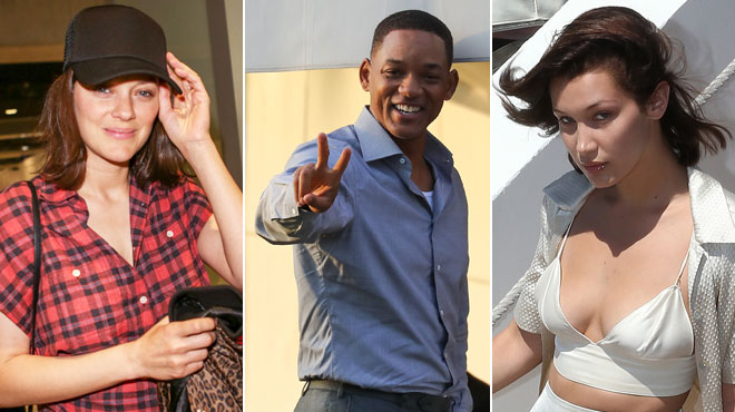 Marion Cotillard, Will Smith, Bella Hadid… Voici les premières images des stars à Cannes (photos)