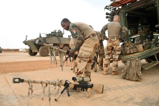 Programme chargé pour Macron au Mali