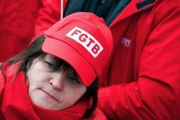Quelque 2.000 militants de la FGTB réclament un changement de cap du gouvernement