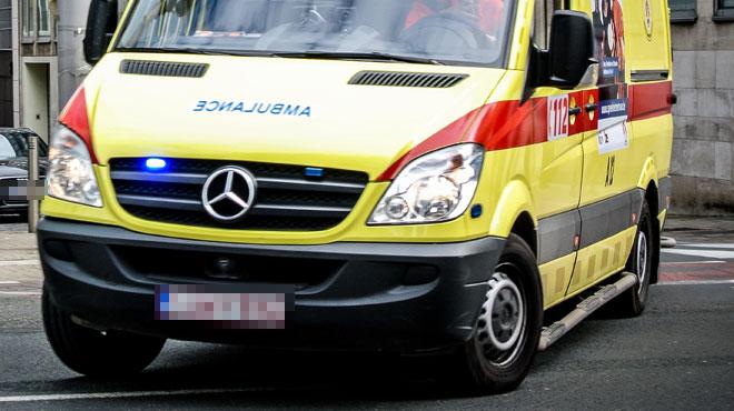 Collision entre une ambulance et une voiture en province d'Anvers: le patient n'a pas survécu
