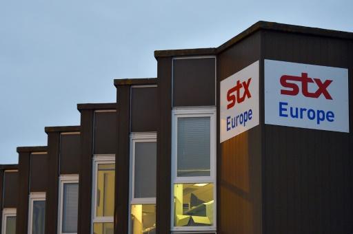 Fin du mouvement social de salariés des chantiers navals STX de Saint-Nazaire