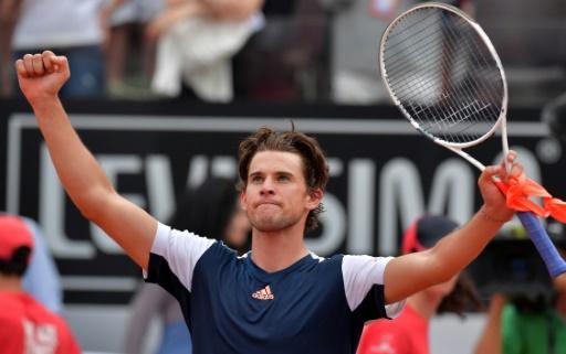 Tennis: Rafael Nadal éliminé en quarts de finale par Dominic Thiem à Rome