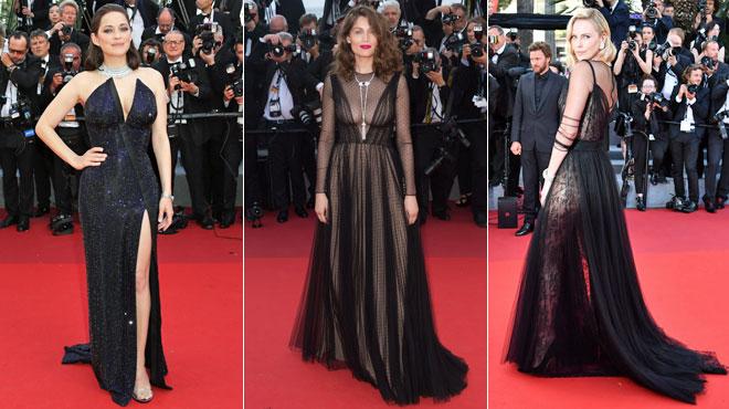 Transparence assumée et décolletés vertigineux: Marion Cotillard, Laetitia Casta et Charlize Theron ÉBLOUISSANTES à Cannes (photos)