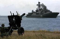 Le destroyer lance-missiles Severomorsk est passé au large de la Côte