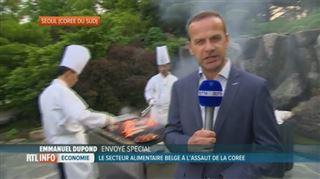 Mission économique princière en Corée du sud- un barbecue 100% belge organisé à Séoul