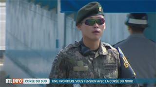 Pourquoi les soldats sud-coréens portent-ils tous des lunettes de soleil à leur frontière? La raison est étonnante...