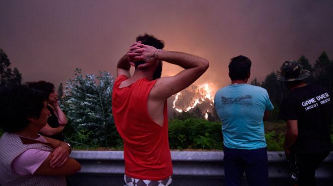 Incendie de forêt au Portugal: le bilan s'alourdit encore