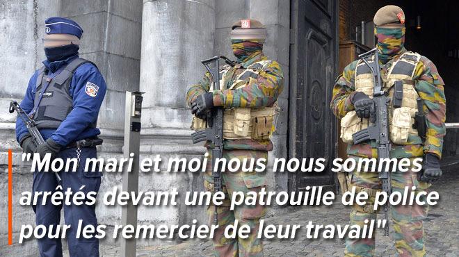 À l'occasion de la fin du Ramadan, le message de remerciement de Bouchra pour la police et les militaires