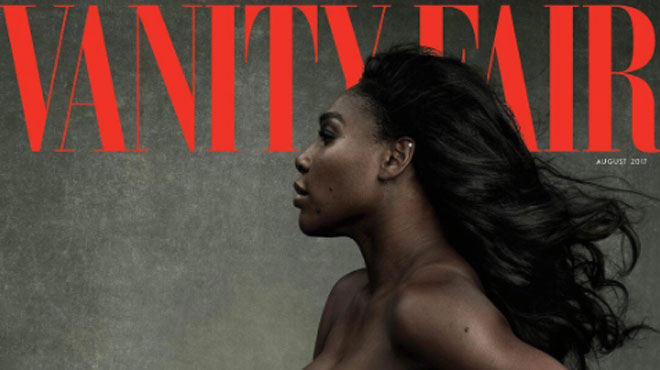 Sexy: la photo de Serena William nue et enceinte en couverture de Vanity Fair