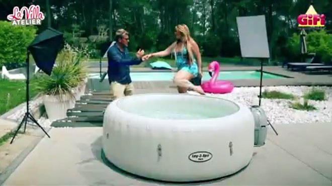 Loana et Benjamin Castaldi en scène dans une publicité sexiste et dégradante (vidéo)